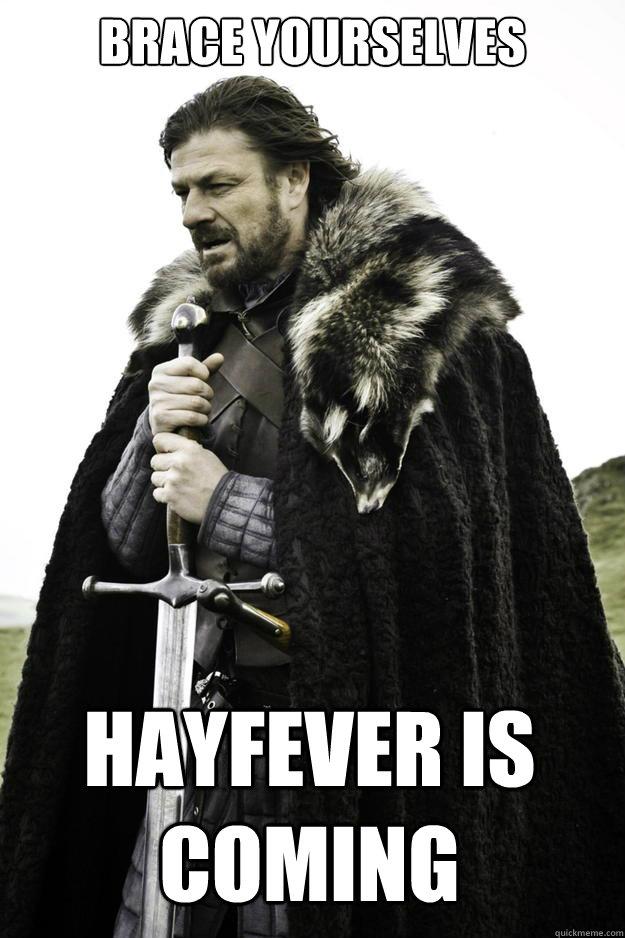 Afbeeldingsresultaat voor hay fever memes