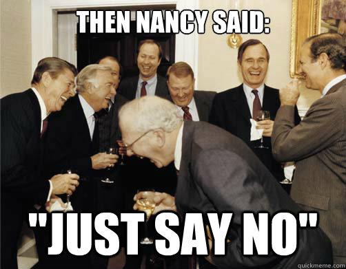 then nancy said: