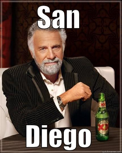 Stay Classy - SAN DIEGO The Most Interesting Man In The World