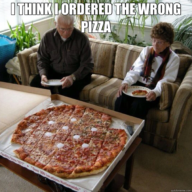 I THINK I ORDERED THE WRONG PIZZA  - I THINK I ORDERED THE WRONG PIZZA   Misc