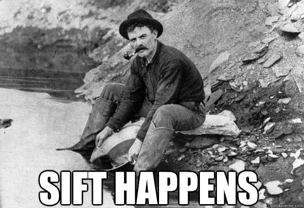 sift happens