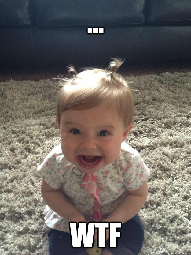 wtf little girl meme - photo #35