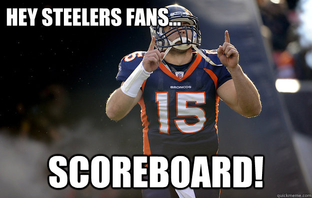 Hey Steelers fans... Scoreboard!