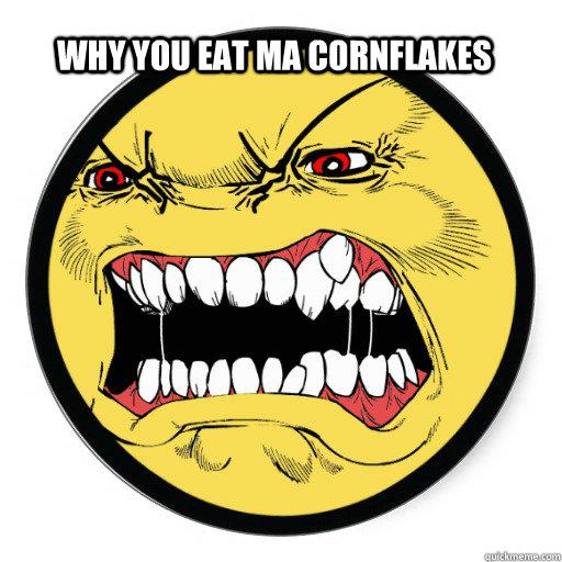 Angry face cartoon steam