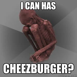 I can has Cheezburger?  African Child