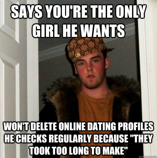 online dating etiquette removing profile