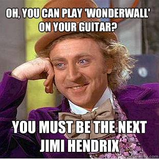 how do you play wonderwall on guitar