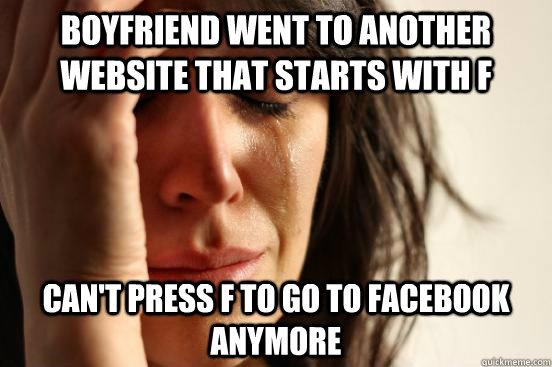 my boyfriend went on a dating website