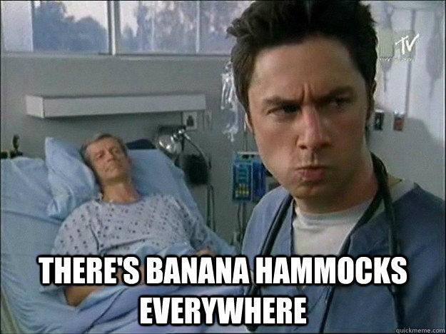 there u0027s banana hammocks everywhere there u0027s banana hammocks everywhere   realization jd   quickmeme  rh   quickmeme