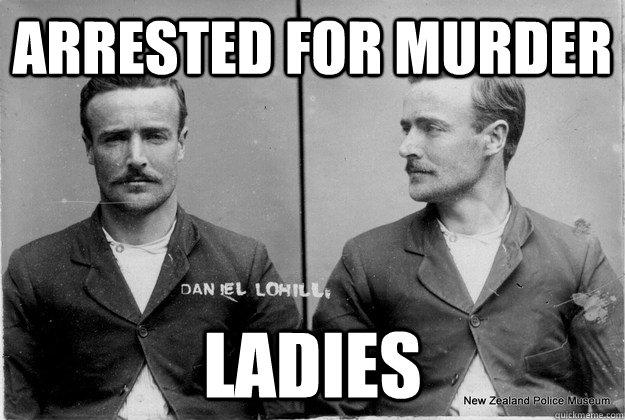 arrested for murder ladies