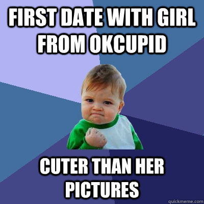 Okcupid first date