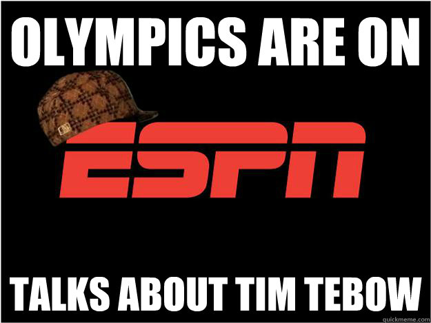 Olympics are on Talks about Tim Tebow