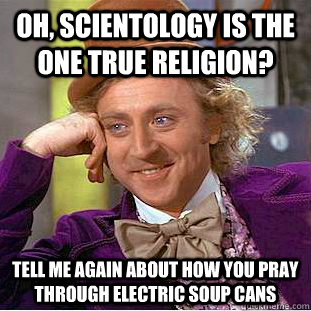 Can someone tell me more about scientology?