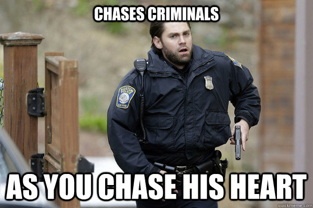 chases criminals as you chase his heart - chases criminals as you chase his heart  Misc