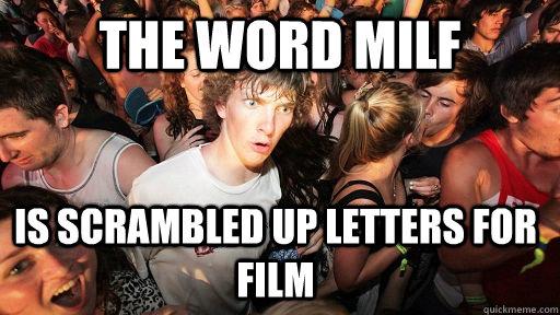 Milf letters