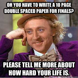 How to write a 10 page paper