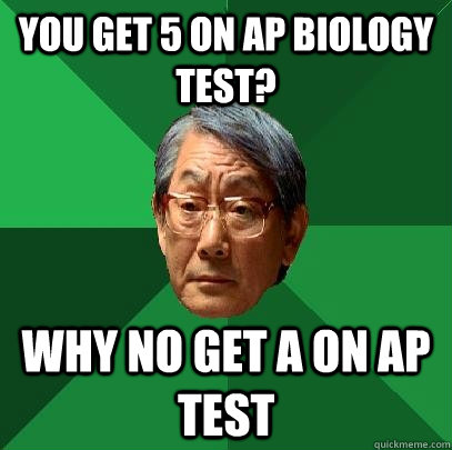 You Get 5 On Ap Biology Test Why No Get A On Ap Test High