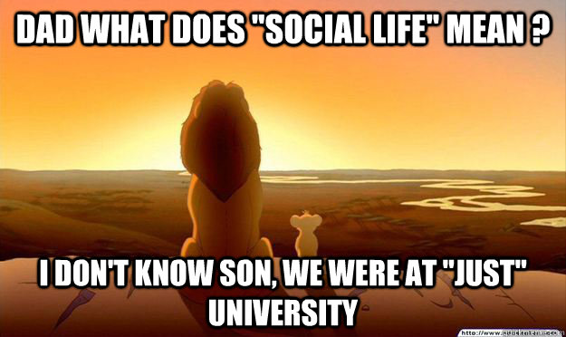 Dad What S Winning I Don T Know Son I M A Toronto Maple Leafs Fan Lion King Gladstone Quickmeme