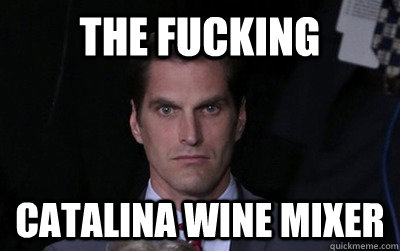 the fucking catalina wine mixer - the fucking catalina wine mixer  Menacing Josh Romney