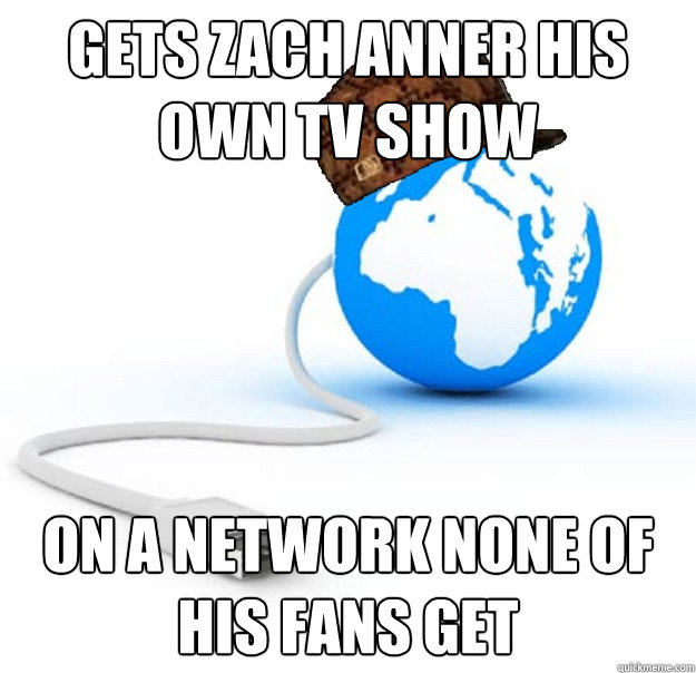 gets zach anner his own tv show on a network none of his fans get