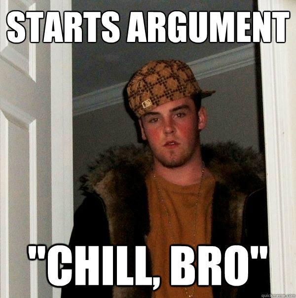 starts argument