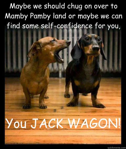 Mamby pamby land