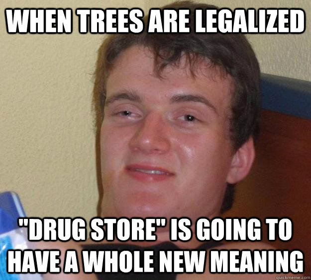 WHen trees are legalized