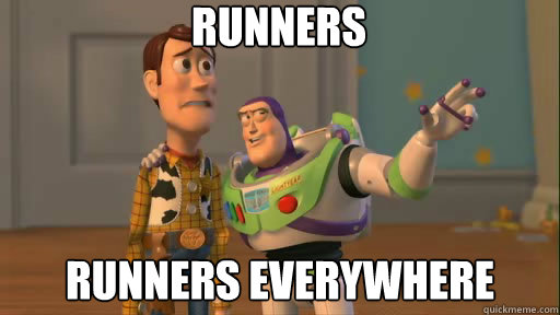 Runners Runners Everywhere - Runners Runners Everywhere  Everywhere