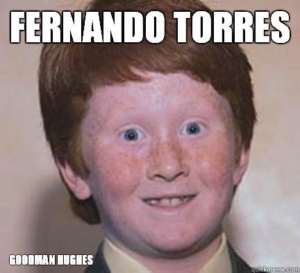 Fernando Torres Goodman Hughes - Fernando Torres Goodman Hughes  Over Confident Ginger