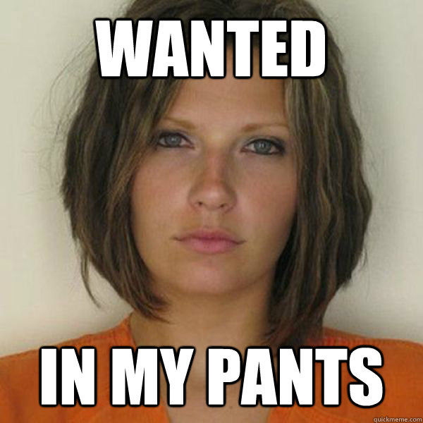 WANTED In my pants - WANTED In my pants  Attractive Convict