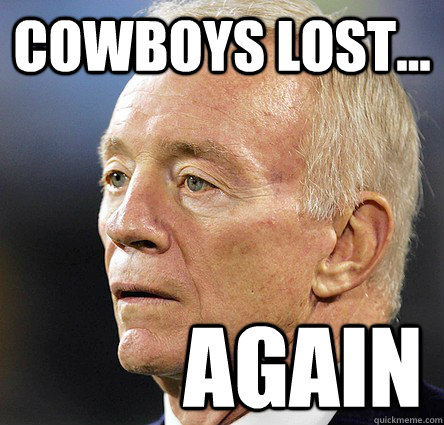 cowboys lost... again