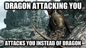 Skyrim Bandit Logic Memes Quickmeme