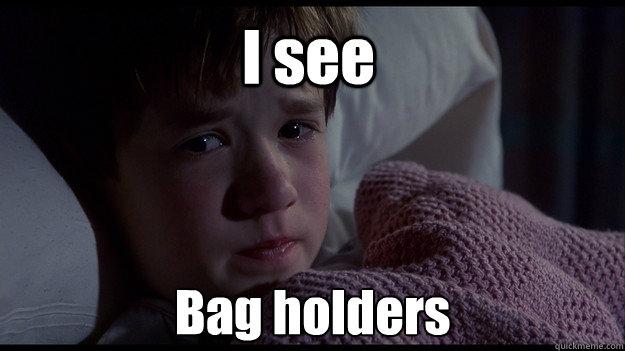 I see  Bag holders