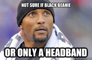 Not sure if black beanie Or only a headband