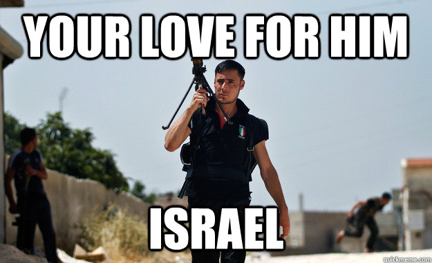 your love for him israel