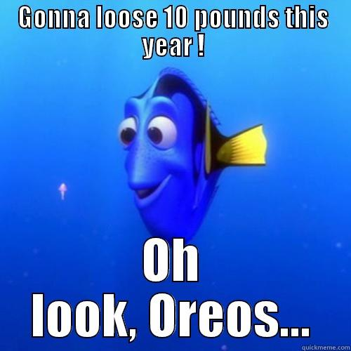 But I love Oreos! - GONNA LOOSE 10 POUNDS THIS YEAR ! OH LOOK, OREOS... dory