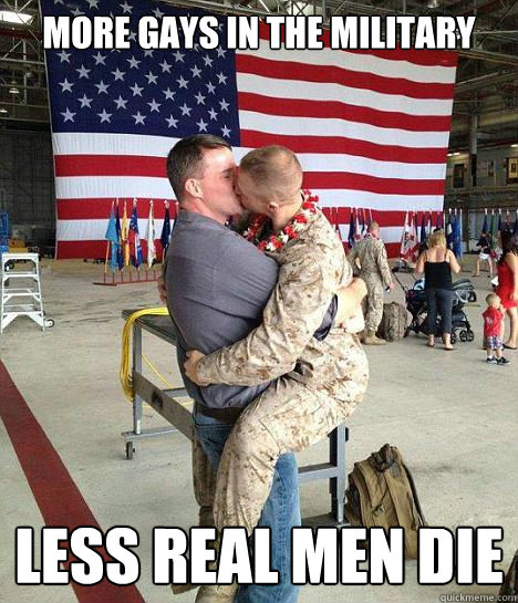 army men Real military gay