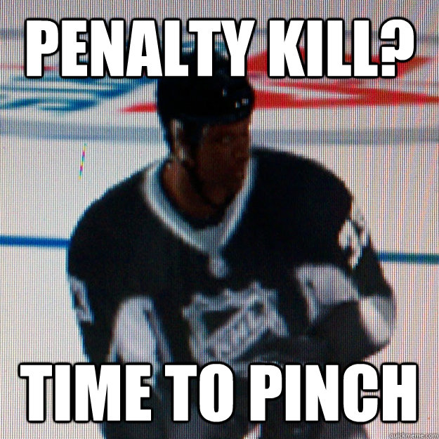 Penalty Kill? Time to pinch - Penalty Kill? Time to pinch  Scumbag EASHL Defenseman