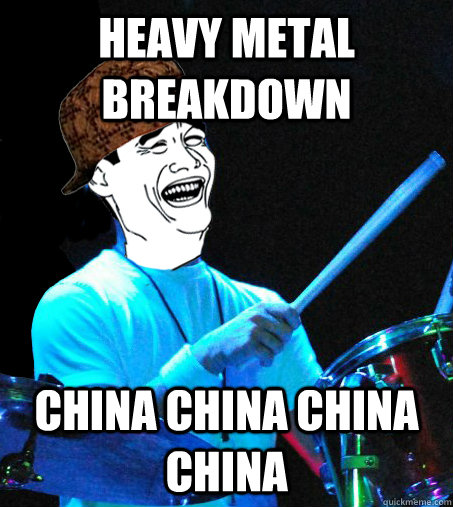 heavy metal breakdown china china china china