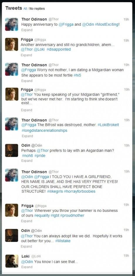 Thor discovers Twitter -   Misc