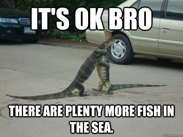 ba7dbfd73f5b460a5709a624c77e3c57ac333b4dd2e81bdc76a44032d75808a2 it's ok bro there are plenty more fish in the sea hugging