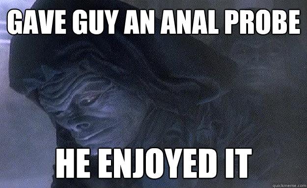Consider, that joke lockheed anal probe