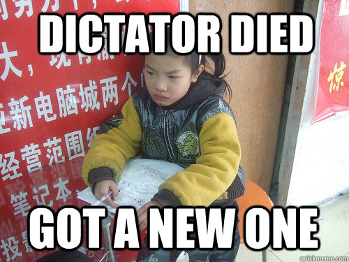Dictator Died got a new one