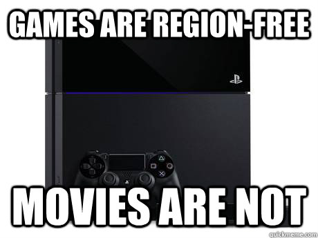 Games are region-free Movies are not - Games are region-free Movies are not  Misc