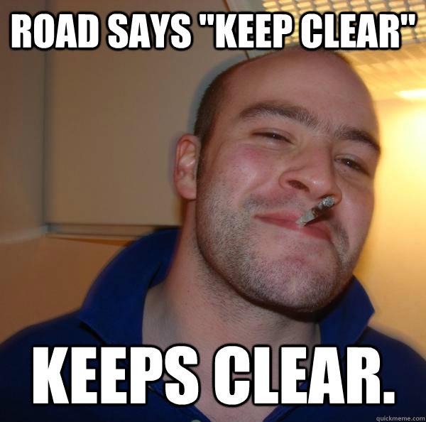 "Claritin Clear Meme Road Says ""Keep C..."