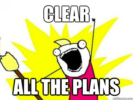 CLEAR  ALL THE PLANS - CLEAR  ALL THE PLANS  Misc