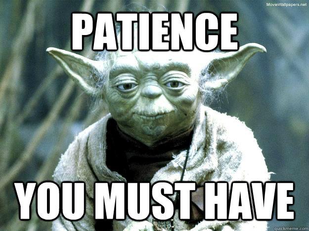 patience you must have - patience you must have  Misc