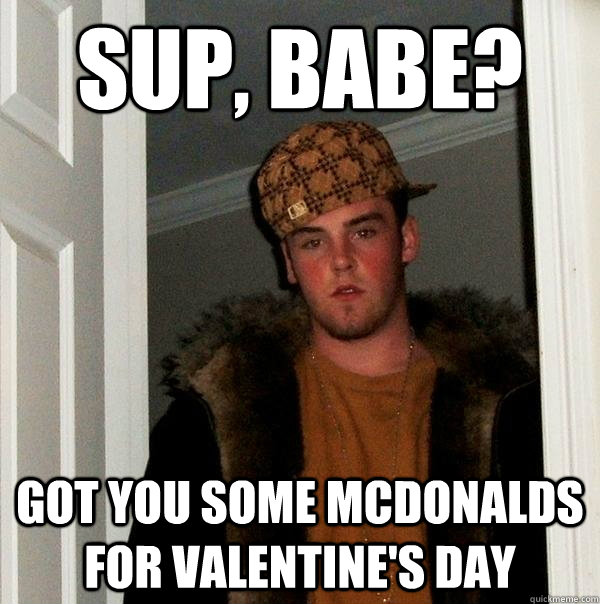 29d1aec114 Got you some McDonalds for Valentine s day