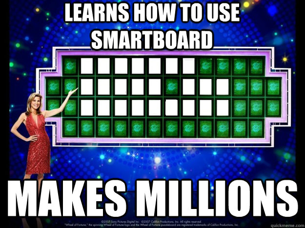LEarns how to use smartboard Makes millions - LEarns how to use smartboard Makes millions  Misc