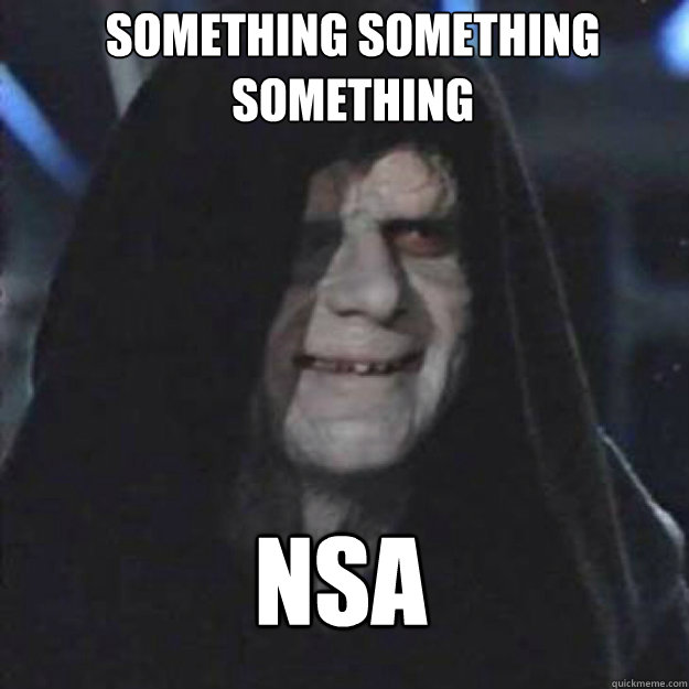 Something Something Something NSA